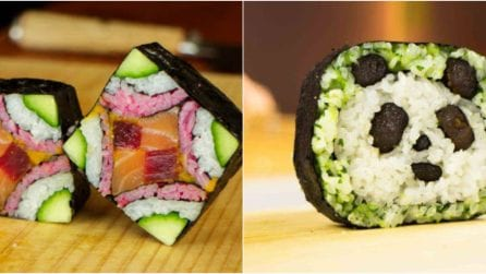 How to make the most amazing sushi ever!