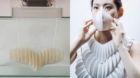 La branchia artificiale per respirare sott'acqua. È l'idea di un giovane designer giapponese