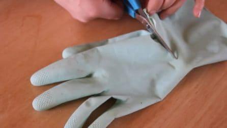 Come riciclare i guanti da cucina: l'idea originale