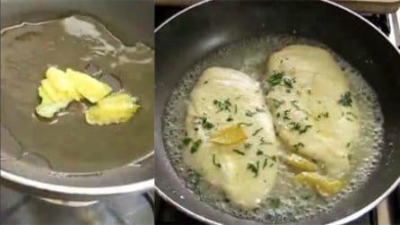 La ricetta per preparare saporite scaloppine di pollo al limone