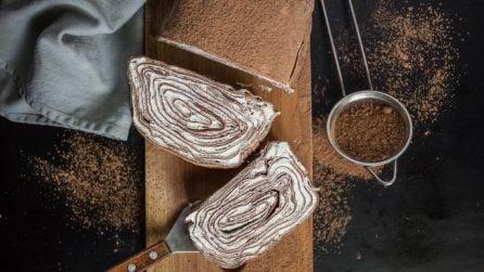 Rotolo di crêpe al cacao: e voi ci avreste mai pensato?