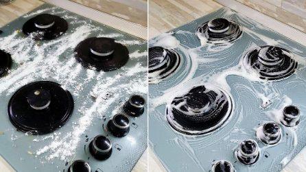 Come pulire il fornello con pochi semplici passaggi