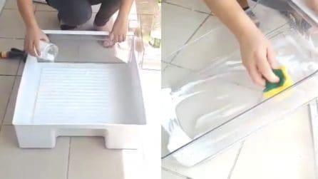 Come pulire e disinfettare i cestelli del frigo