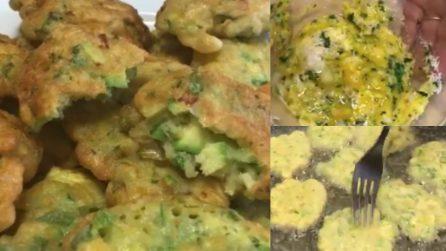 Frittelle di zucchine in pastella: veloci, semplici e saporite