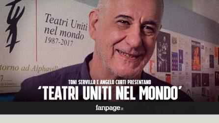 """I primi 30 anni di Teatri Uniti, Toni Servillo: """"Nessuna fatica, solo la gioia di andare in scena"""""""