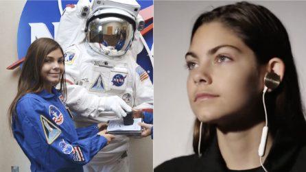 Il coraggio di sognare: Alyssa a 17 anni si prepara a diventare la prima persona a camminare su Marte