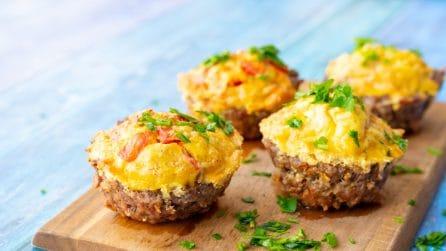 Cestini di carne e uova: troppo deliziosi per non provarli!