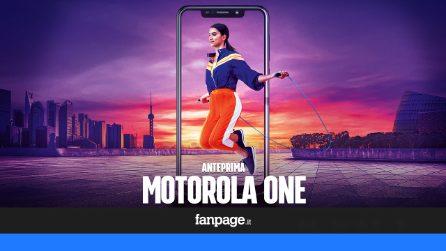 Anteprima Motorola One, il primo dispositivo dell'azienda con Android One che costa meno di 300 euro