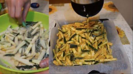 Zucchine croccanti al forno: semplici da preparare e deliziose