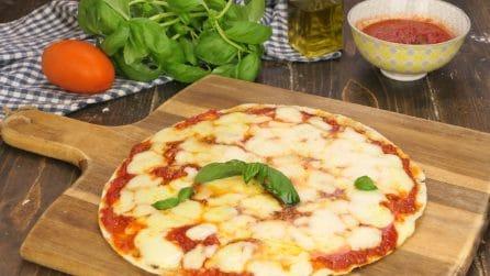 Piadipizza: la ricetta veloce e buonissima che si prepara in padella!