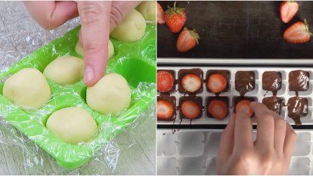 Ecco come preparare 4 dolci golosi con un contenitore del ghiaccio!