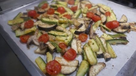 Verdure gratinate al forno: il contorno leggero e squisito