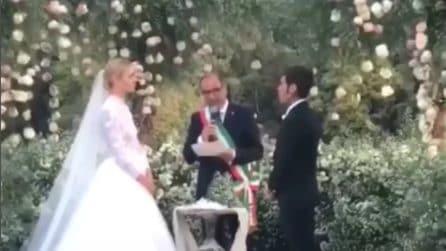Matrimonio Ferragnez, il momento del sì di Fedez e Chiara Ferragni