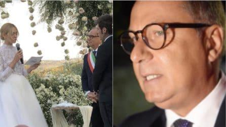 """Matrimonio Ferragnez, il sindaco di Noto che li ha sposati: """"Mi hanno commosso"""""""