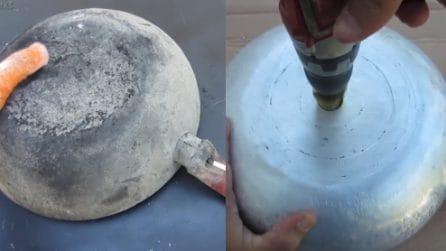 Come riciclare una vecchia padella: l'idea originale per la tua casa