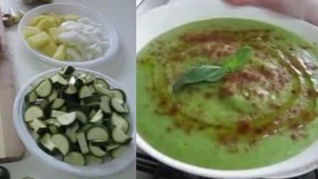 Crema di zucchine: ideale per primi piatti e bruschette