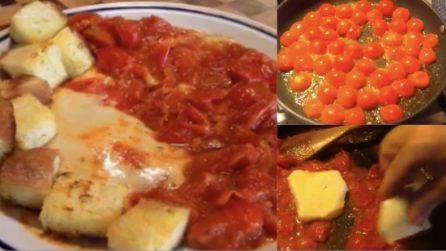 Scamorza alla pizzaiola: un secondo piatto pronto in pochi minuti