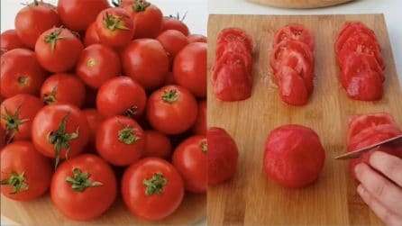 Come conservare i pomodori: il metodo per congelarli in maniera corretta
