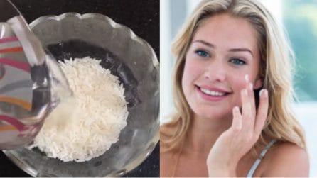 Come preparare una crema viso e corpo con il riso