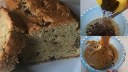 Plumcake con zucca e cioccolato: il dessert soffice e goloso