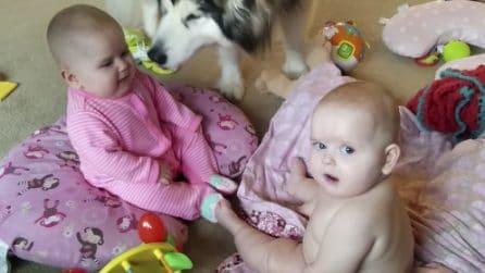 La conversazione più tenera che ci sia: gemelli si confrontano e mamma riprende tutto