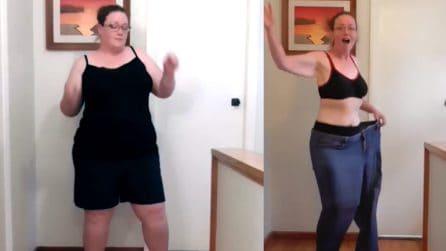 In 8 mesi la sua vita cambia completamente: una trasformazione incredibile