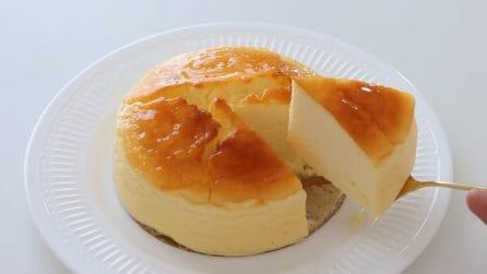 Torta soufflé con yogurt: il dessert goloso e cremoso