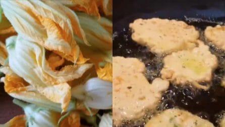 Frittelle di fiori di zucca: una delizia per il palato e veloci da preparare
