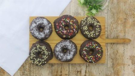 Ciambelle mele e cioccolato: l'alternativa gustosa che piacerà a tutti