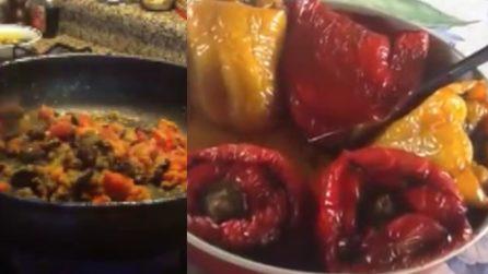 Peperoni imbottiti: la ricetta napoletana che non delude mai