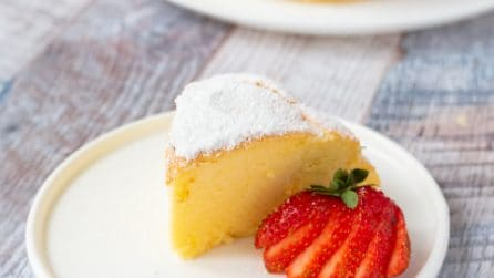 Jiggly cheesecake: fluffy and tasty!
