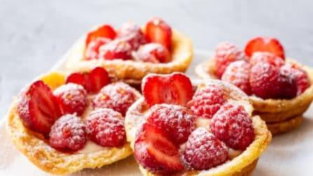 Cestini di pancakes: l'alternativa alle solite frittelle dolci!