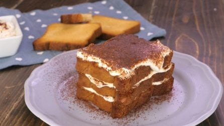 Tiramisù made with rusks: a healthier, but still tasty alternative to the original!