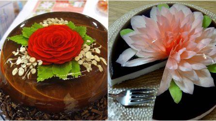 Amazing gelatin art cake