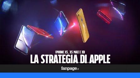 Perché Apple ha annunciato tre nuovi iPhone
