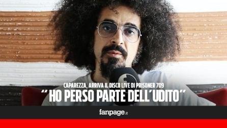 """Prisoner 709 live, Caparezza: """"Che seccatura suonare con l'acufene, mi prenderò più cura di Michele"""""""
