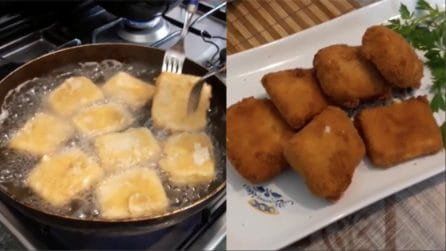 Formaggio fritto e filante: un'idea gustosa per sorprendere gli ospiti