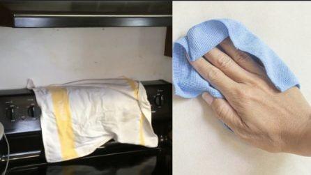 Come pulire il muro della cucina: tornerà come nuovo