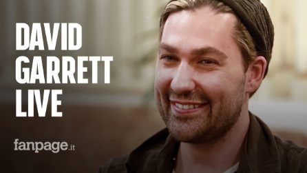 "David Garrett on tour: ""Rock and classical music are quite similar, It's alla about hard work"""