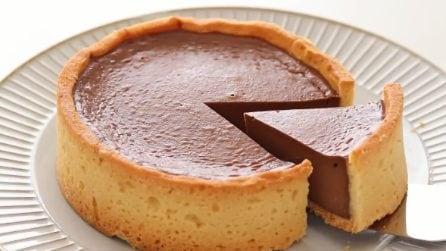 Crostata morbida al cioccolato: una vera delizia per il palato