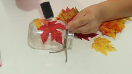 Lampada Con Barattolo Di Vetro : Come costruire un lampadario usando barattoli di vetro