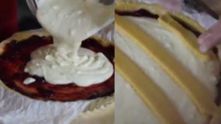 Crostata con ricotta e visciole: il dessert da acquolina in bocca
