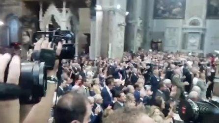Napoli, Miracolo di San Gennaro 2018: il momento dello scioglimento del sangue