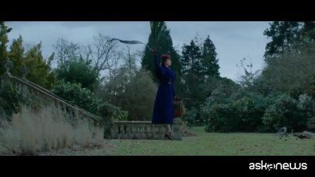 """Il trailer di """"Il Ritorno di Mary Poppins"""" con Emily Blunt , la tata più amata di sempre"""