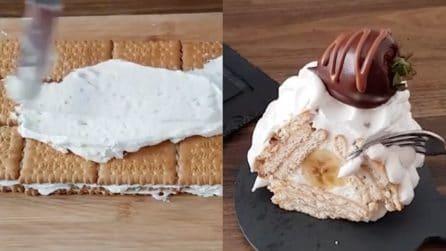 Un dessert gustoso che non necessita di cottura: facile e veloce da preparare
