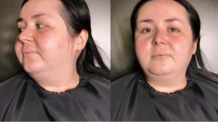 Non è felice del suo aspetto e vorrebbe vedersi diversa per un giorno: la trasformazione