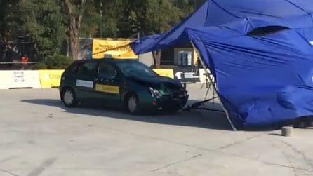 Il crash test non va come sperato: la simulazione finisce davvero male