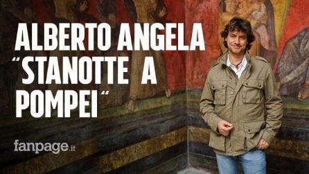"""'Stanotte a Pompei', Alberto Angela: """"Napoli tra luci e ombre, ma la sua voglia di vivere è unica"""""""