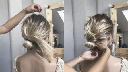 Pochi e semplici passi da seguire per realizzare una bellissima pettinatura per capelli mossi