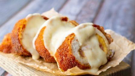 Rotolini di pollo fritto: uno tira l'altro!